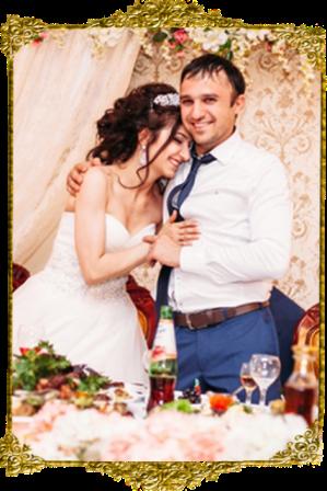 свадьба в кафе